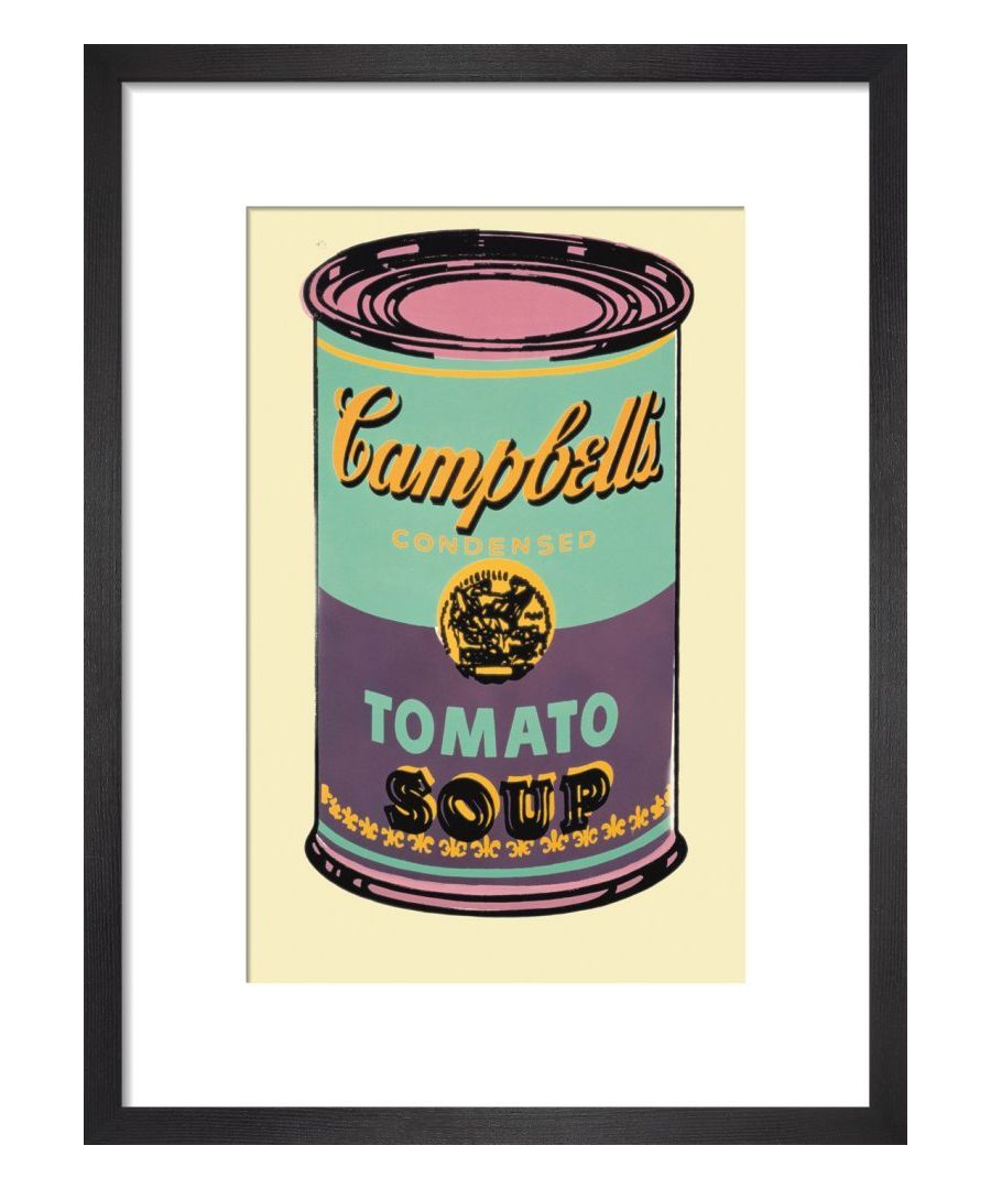 Image for Campbell's Soup Can, 1965 (green & purple) Art print by Andy Warhol