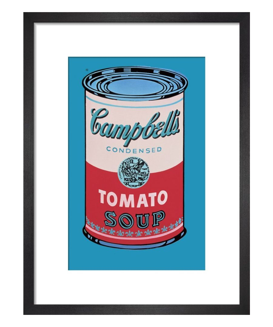 Image for Campbell's Soup Can, 1965 (pink & red) Art print by Andy Warhol