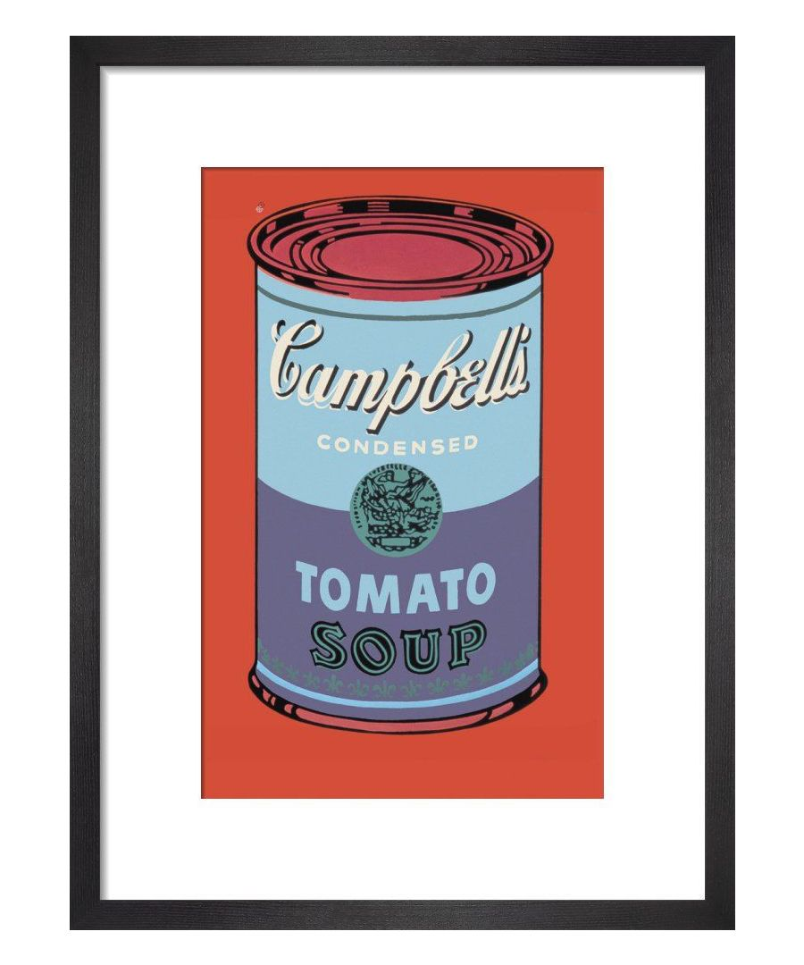 Image for Campbells Soup Can 1965 Blue & Purple Art Print By Andy Warhol