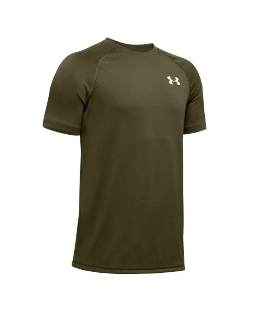 Image for Under Armour Tech Kids T-Shirt Khaki