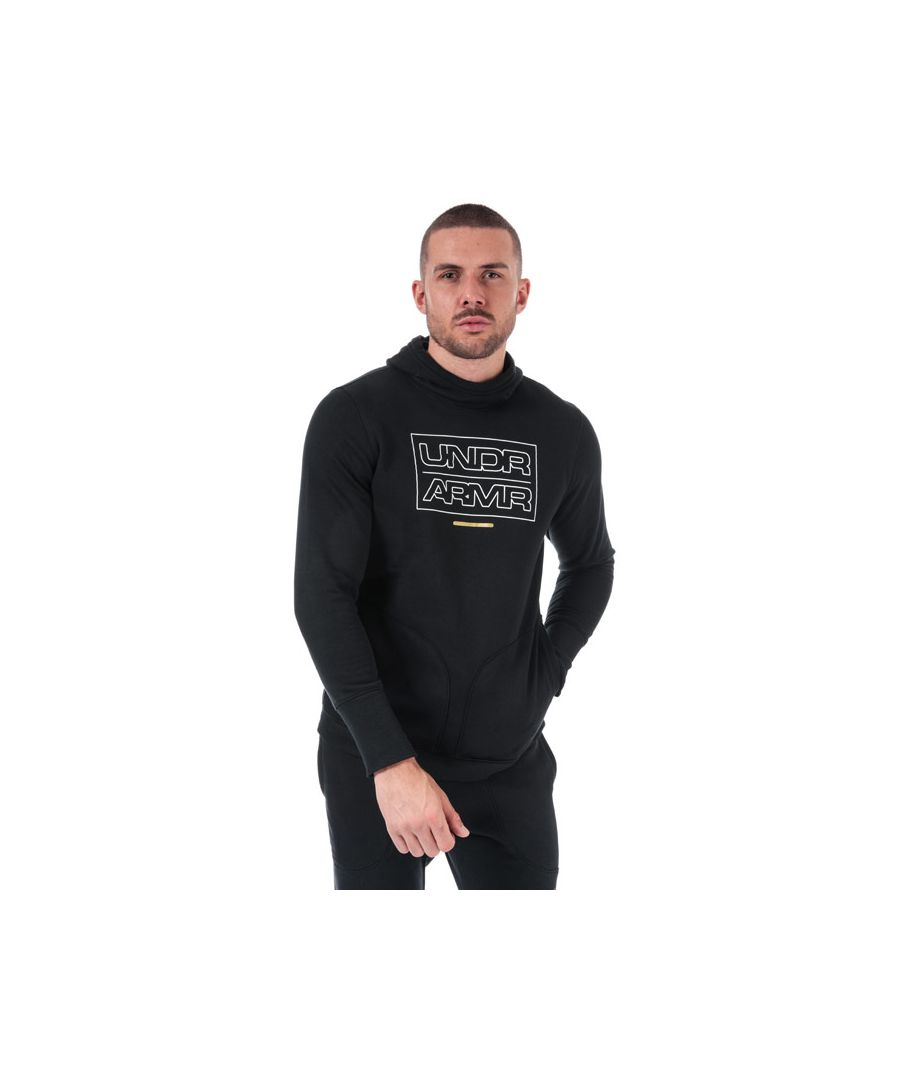 Image for Men's Under Armour UA Baseline Fleece Hoody in Black