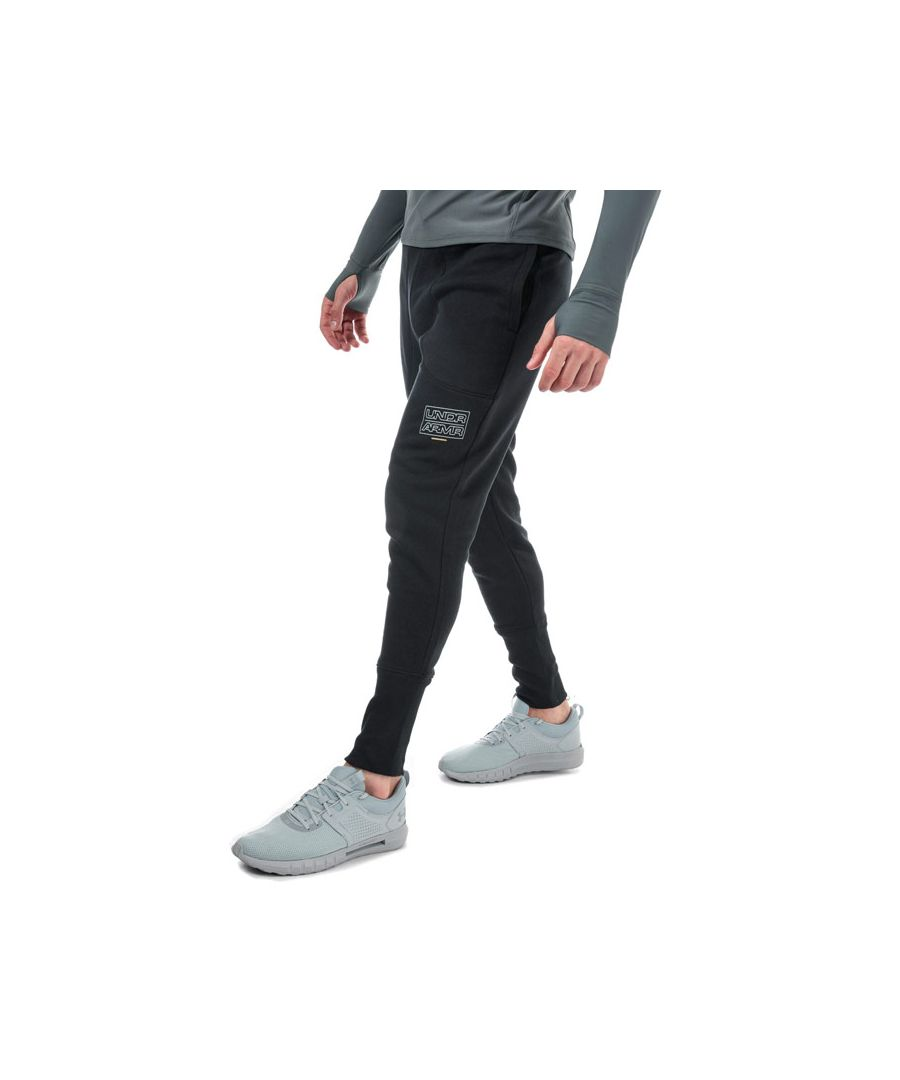 Image for Men's Under Armour UA Baseline Fleece Jog Pants in Black