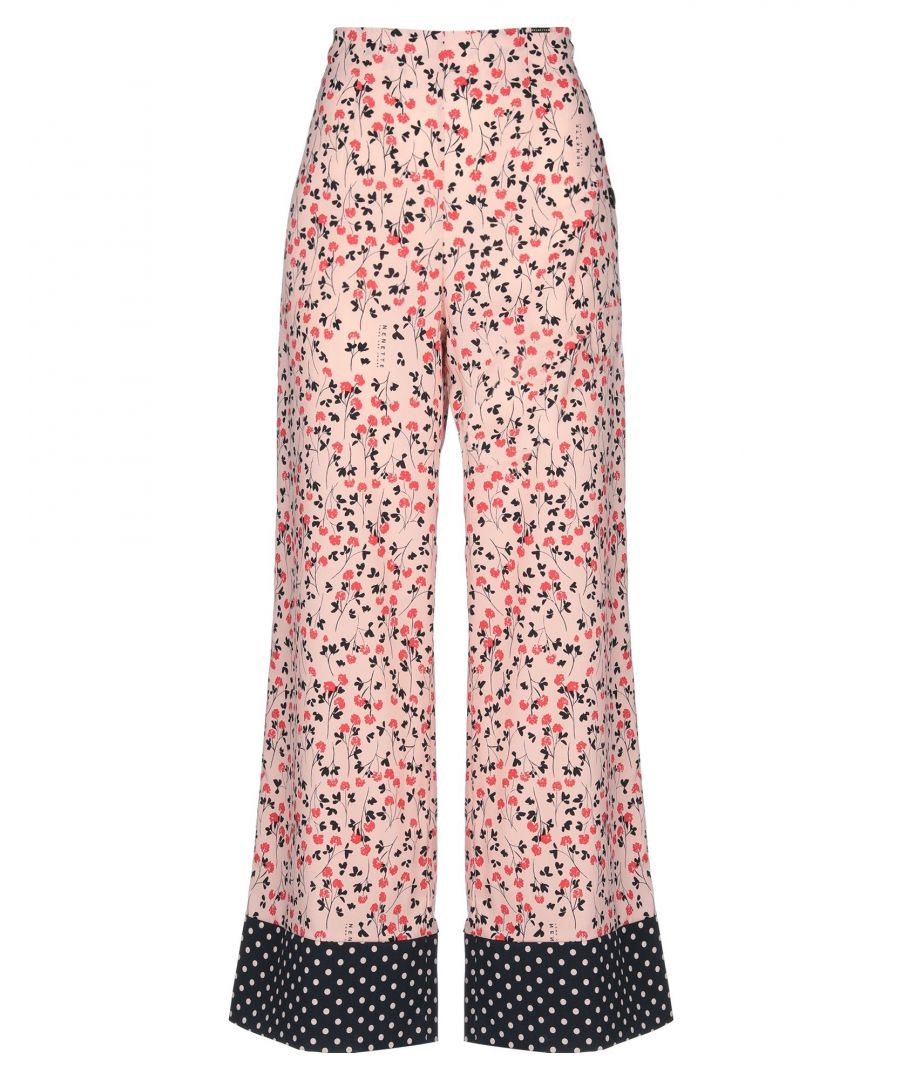 Image for Nenette Woman Casual trousers Pink Polyester