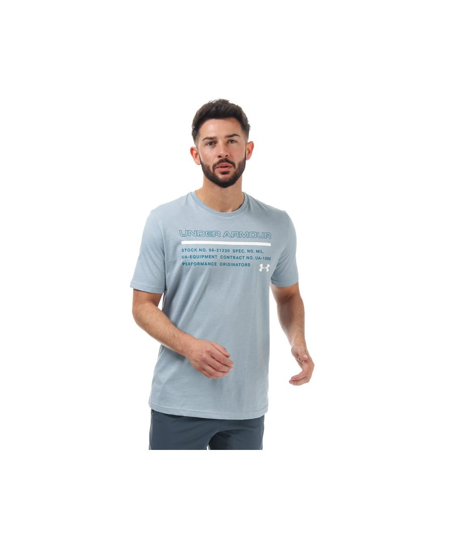 Image for Men's Under Armour UA Issued T-Shirt in Blue