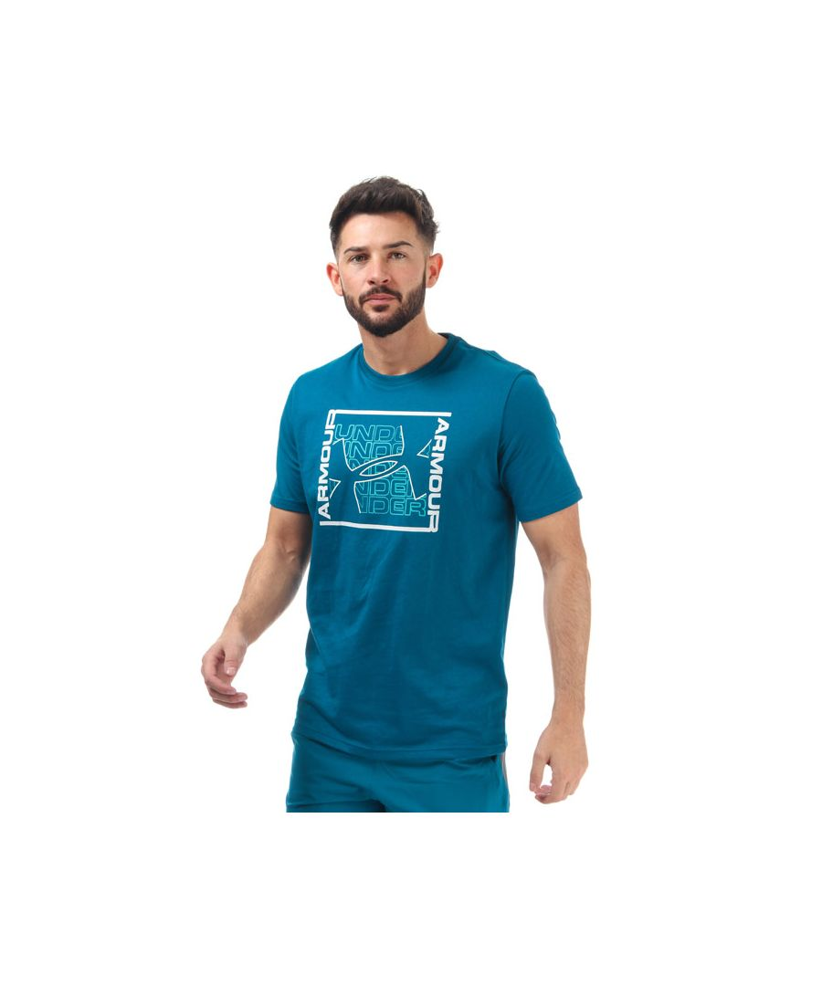 Image for Men's Under Armour Rhythm T-Shirt in Green