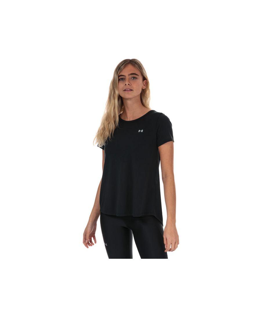 Image for Women's Under Armour UA Whisperlight T-Shirt in Black
