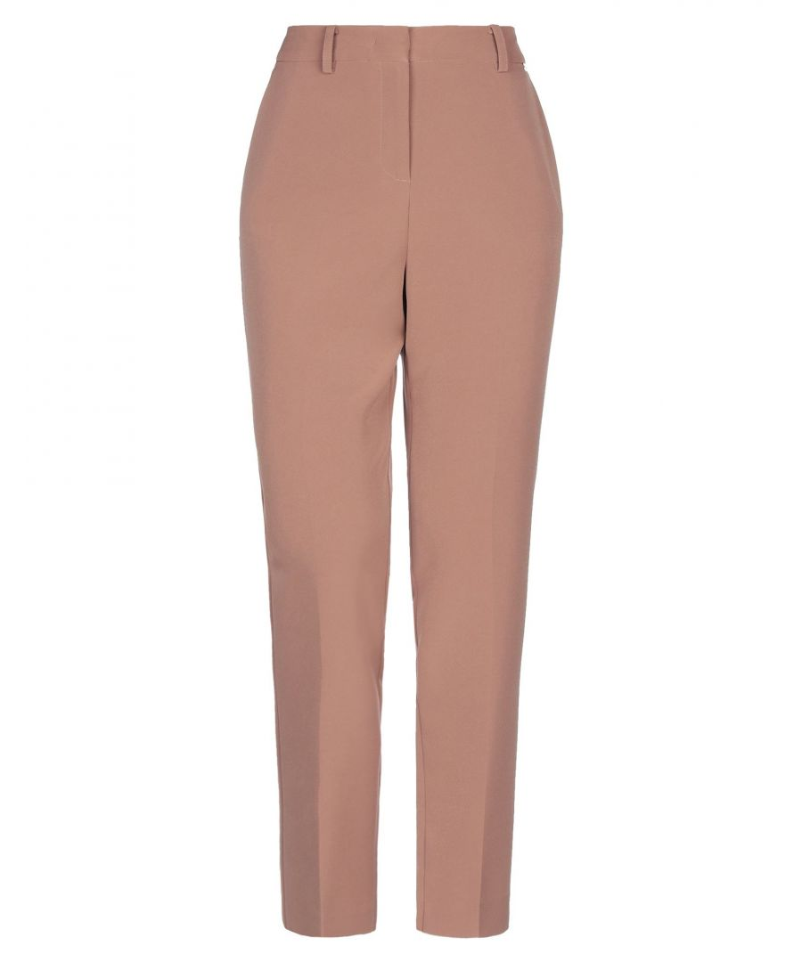 Image for Nenette Woman Casual trousers Light brown Polyester