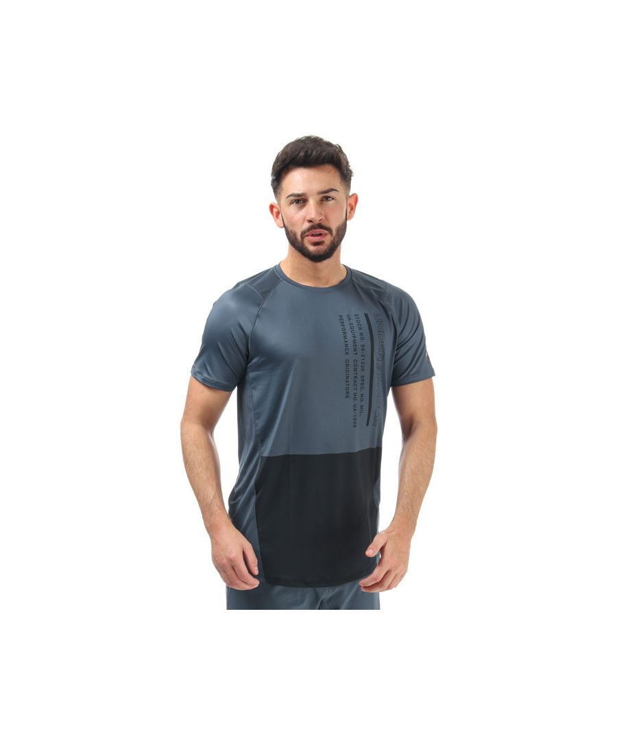 Image for Men's Under Armour UA MK-1 Colourblock T-Shirt in Grey
