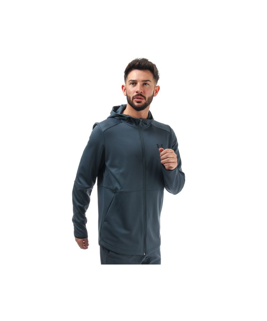 Image for Men's Under Armour MK1 Warmup FZ Hoody in Grey