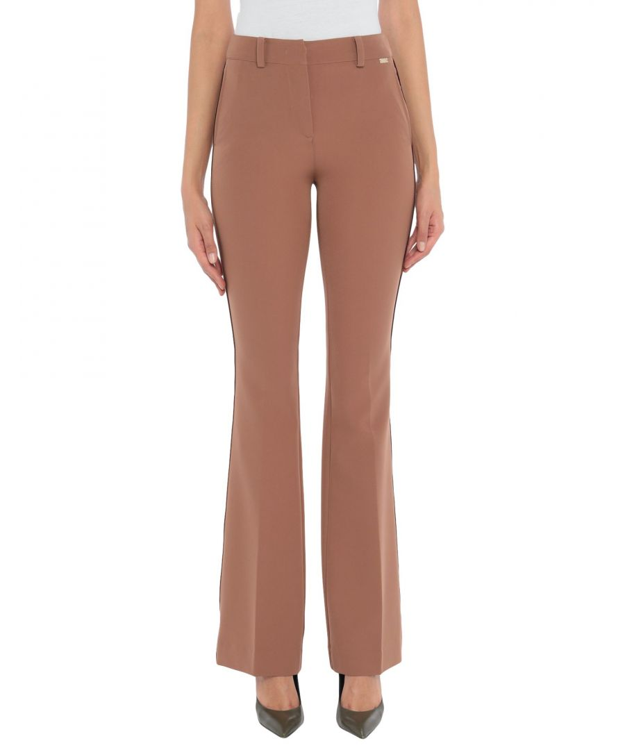 Image for Nenette Woman Casual trousers Brown Polyester