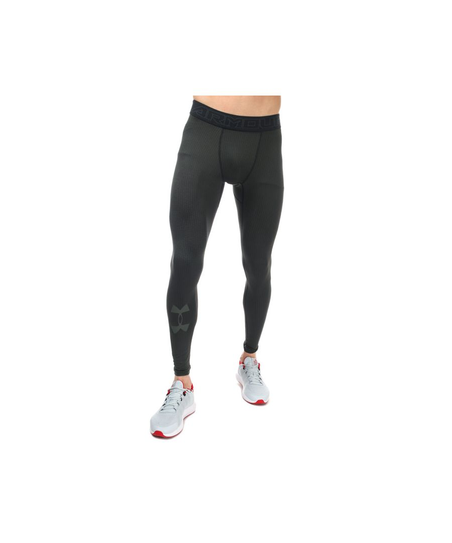 Image for Men's Under Armour CG Armour Legging in Green