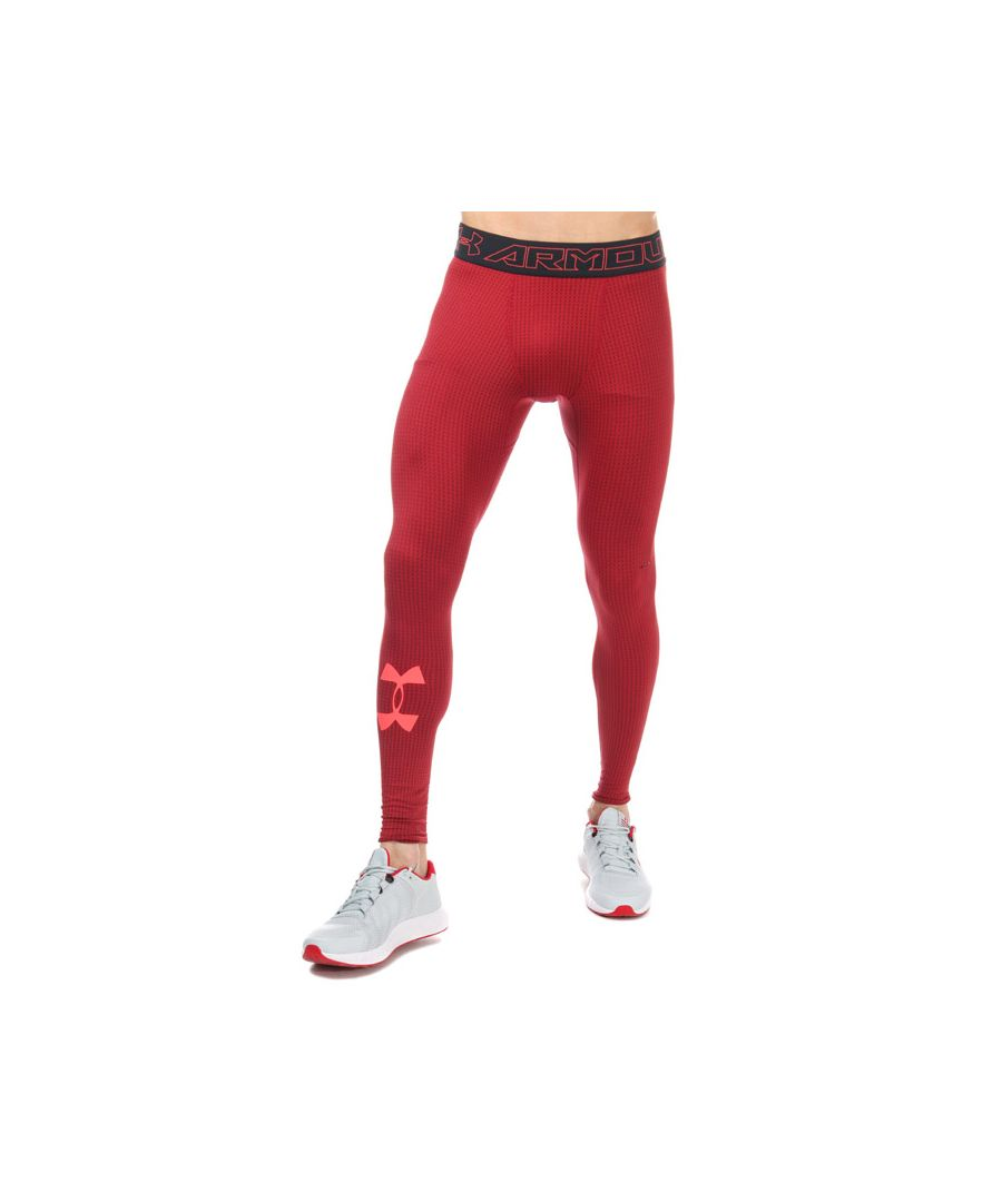 Image for Men's Under Armour CG Armour Legging in Red