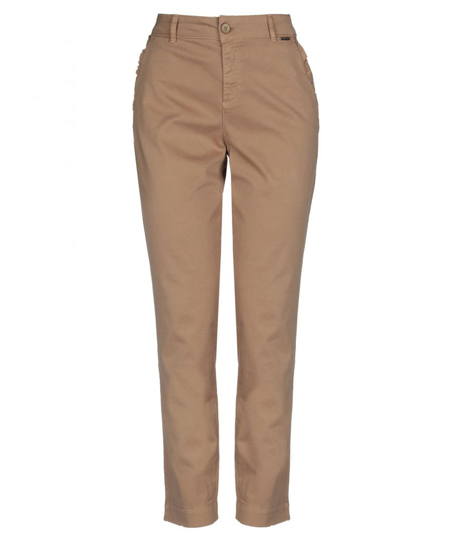Image for Nenette Woman Casual trousers Beige Cotton