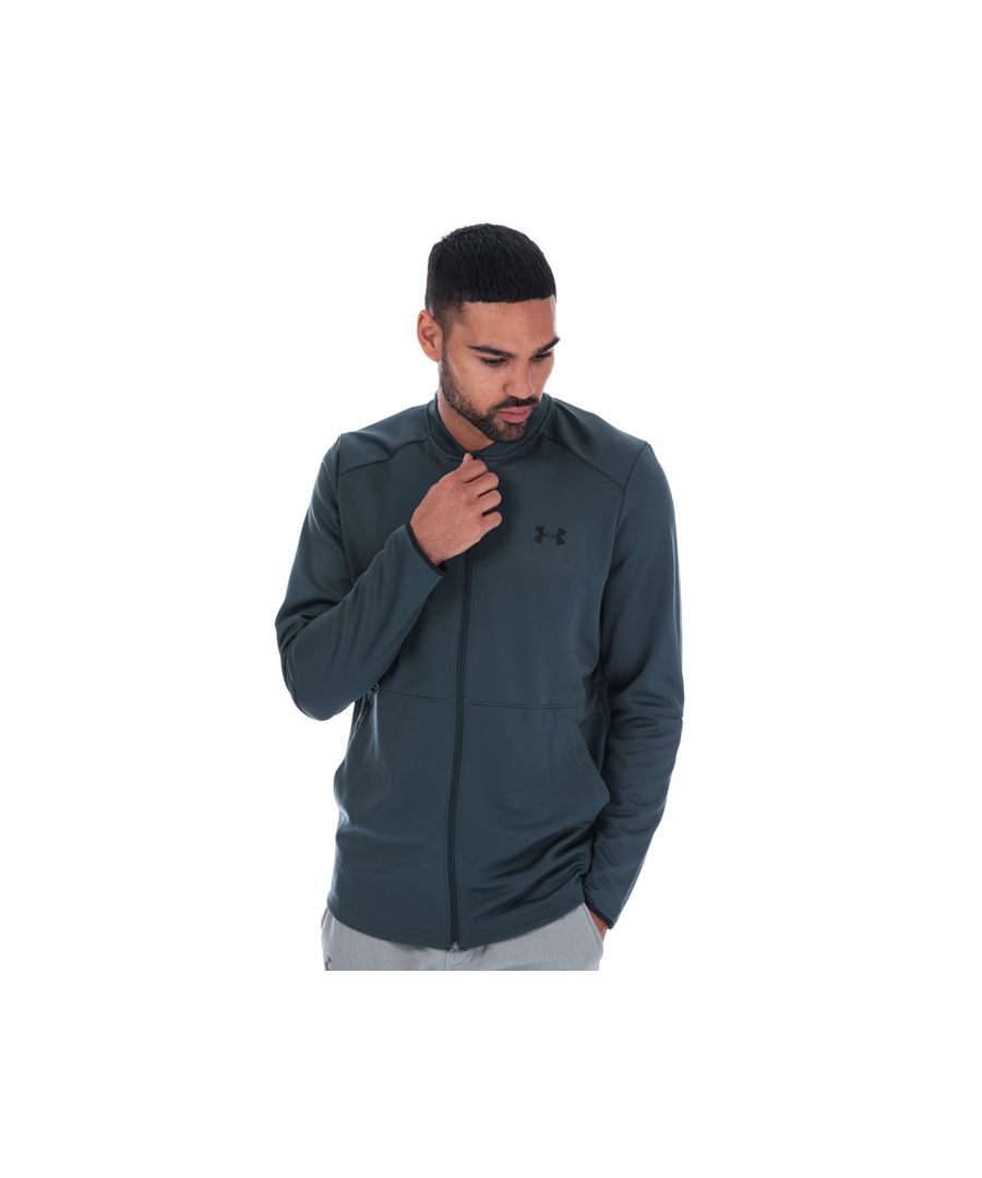Image for Men's Under Armour MK1 Warmup Bomber Jacket in Grey