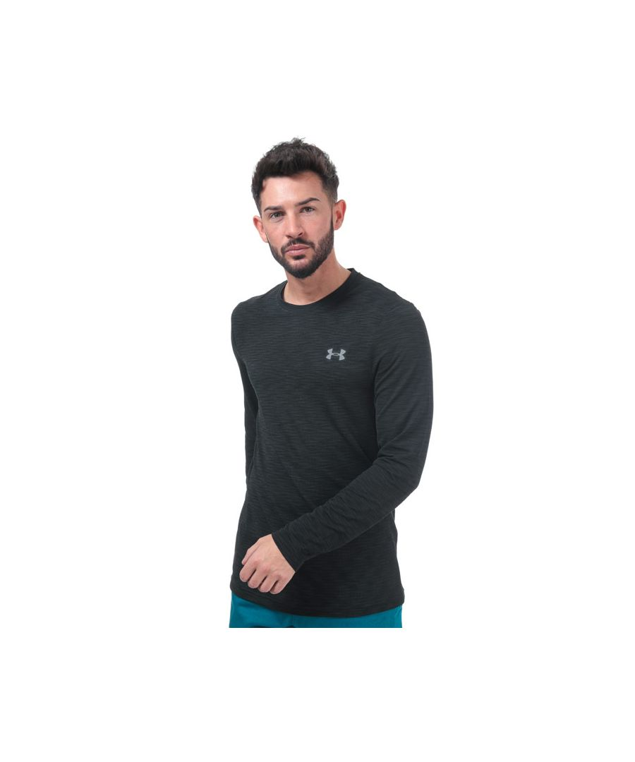 Image for Men's Under Armour Vanish Seamless Long Sleeve T-Shirt in Black