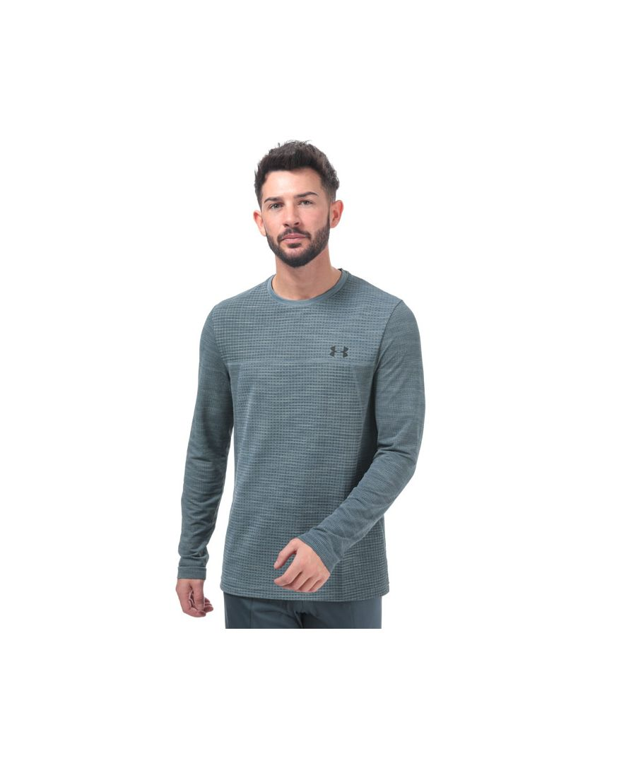 Image for Men's Under Armour Vanish Seamless Long Sleeve T-Shirt in Grey