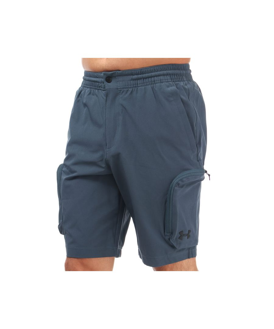 Image for Men's Under Armour Unstoppable Woven Cargo Shorts in Grey