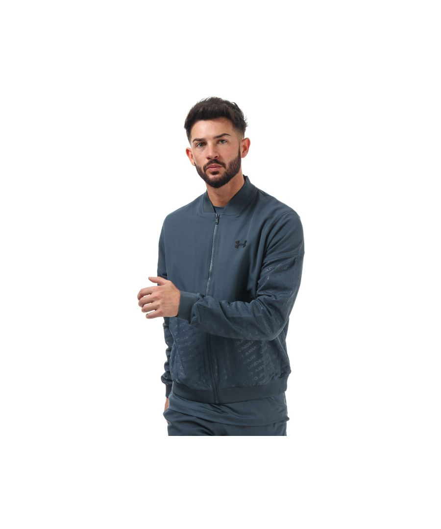 Image for Men's Under Armour Unstoppable Emboss Bomber Jacket in Grey