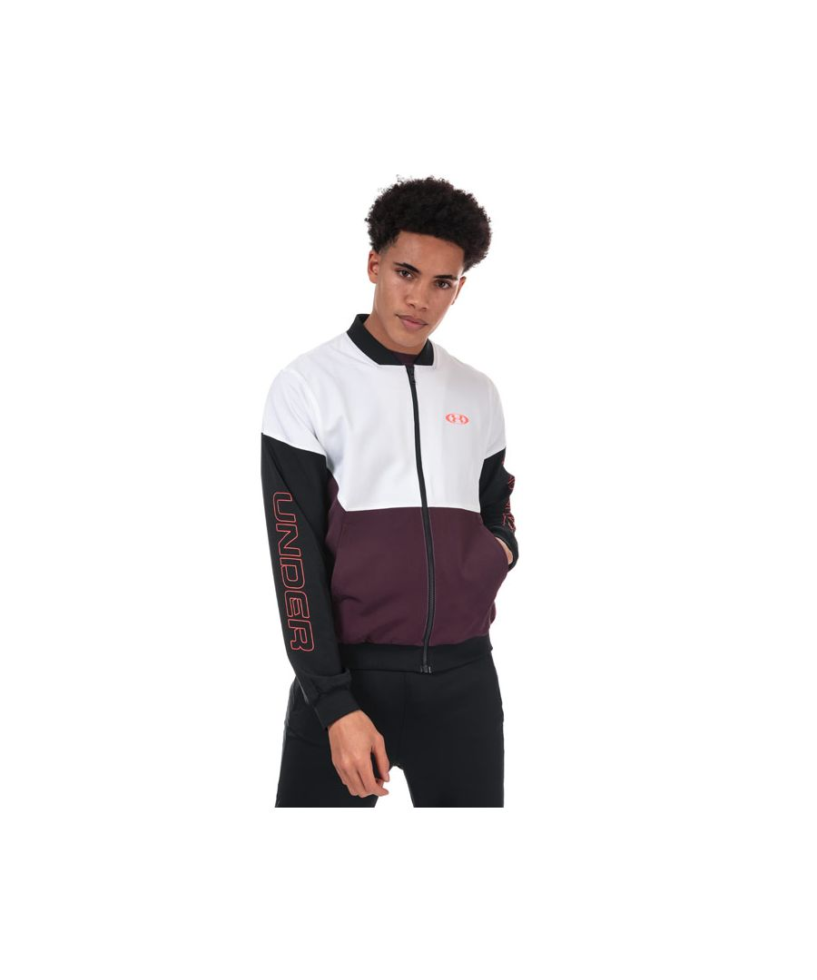Image for Men's Under Armour Unstoppable 96 Bomber Jacket in White