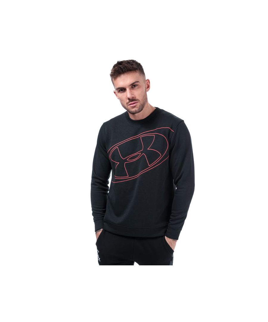 Image for Men's Under Armour Unstoppable 96 Crew Sweat in Black