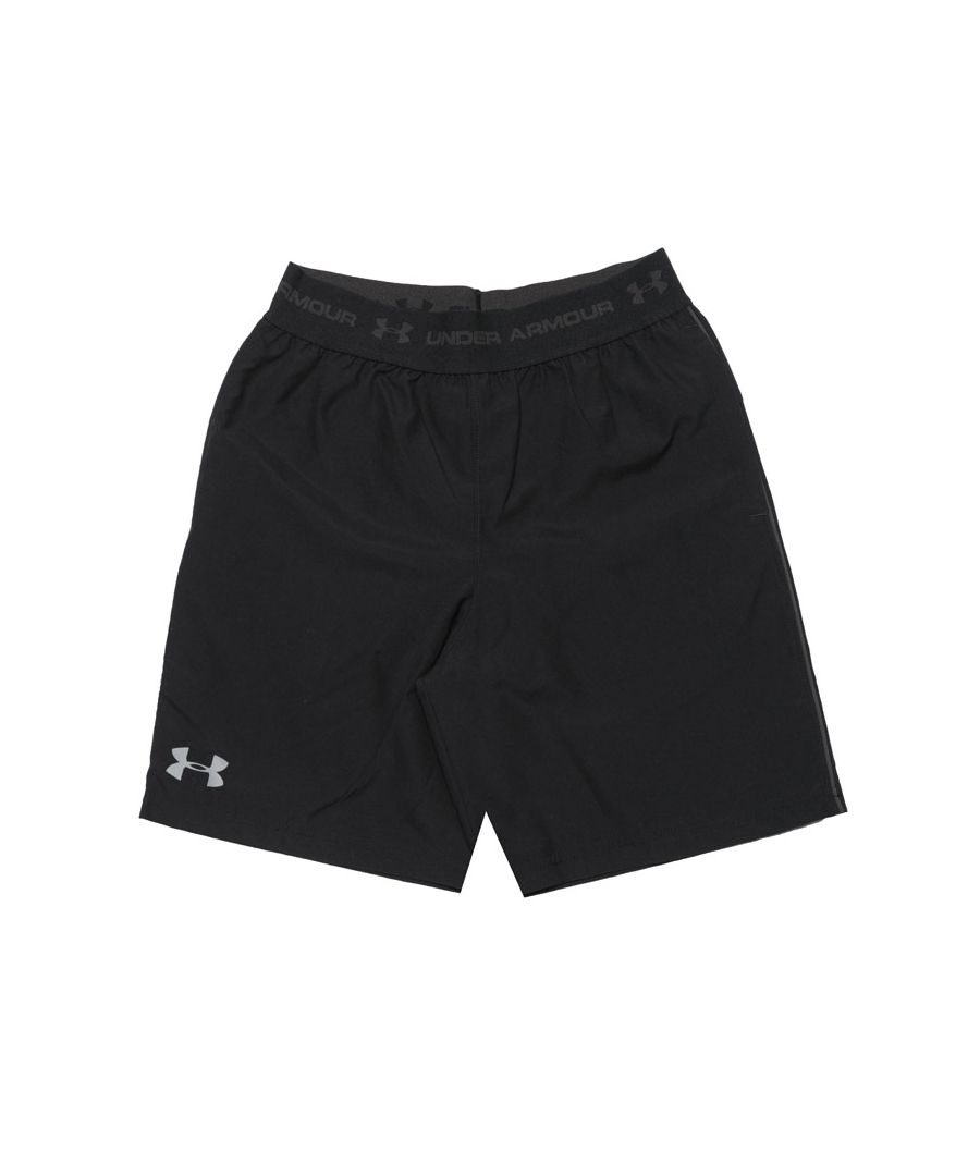 Image for Boy's Under Armour Junior JD Woven Shorts in Black