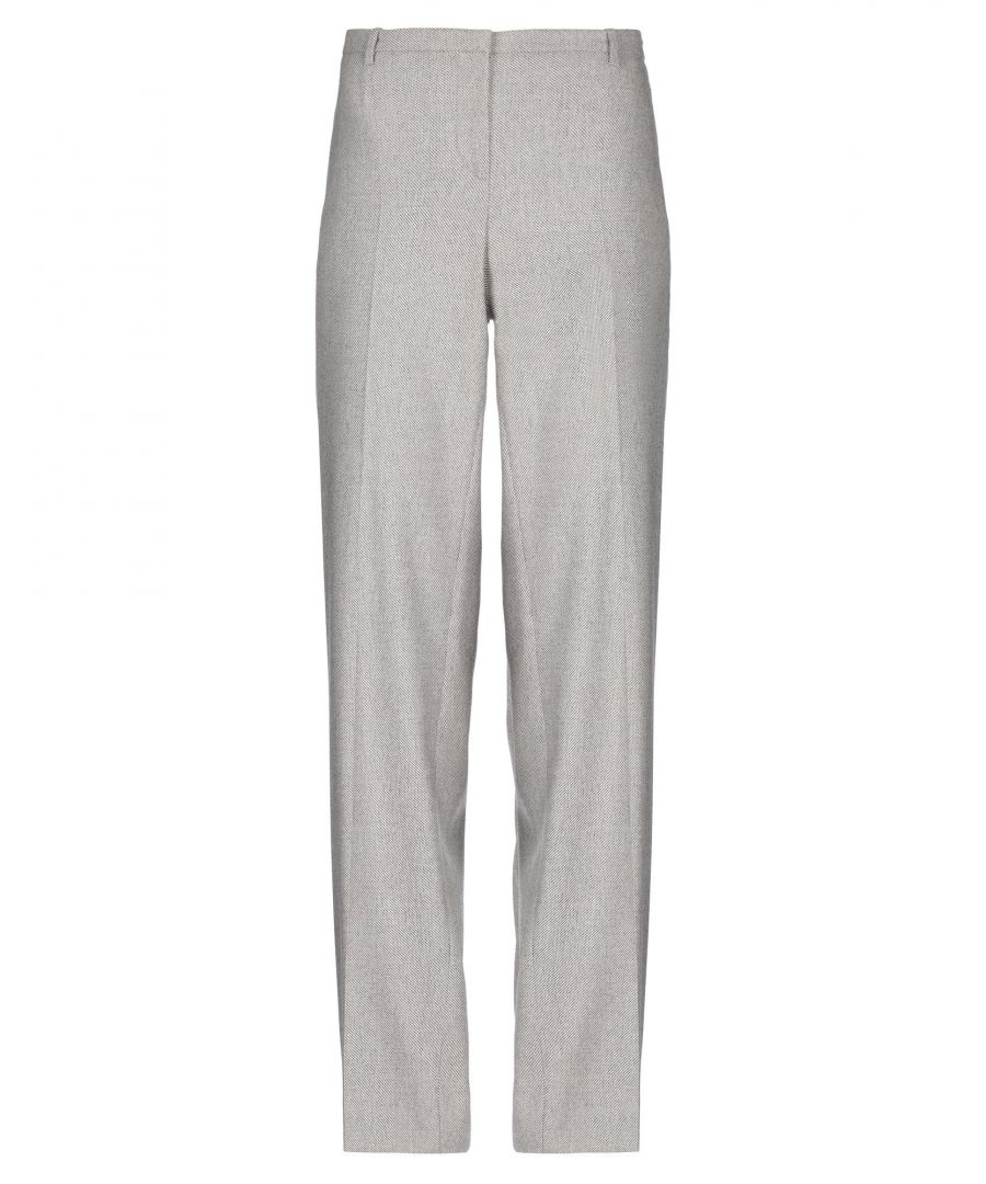 Image for Boss Hugo Boss Beige Virgin Wool Trousers