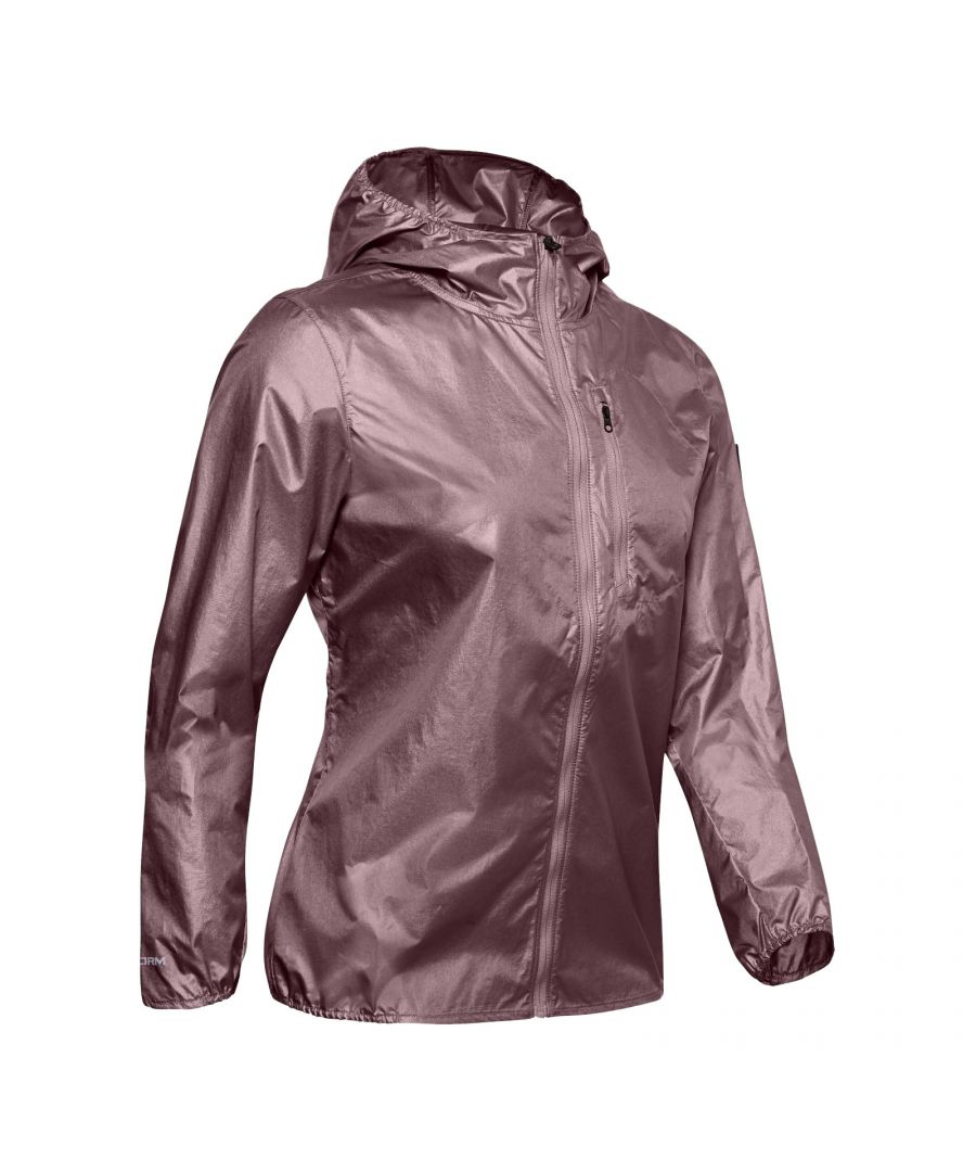 Image for Under Armour OD Impasse Womens Wind Jacket Pink