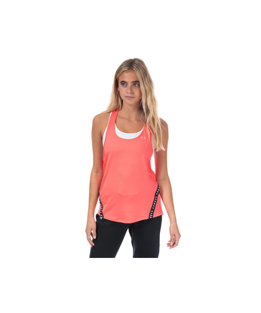 Image for Women's Under Armour Armour Sport WM Tape Tank Top in Red