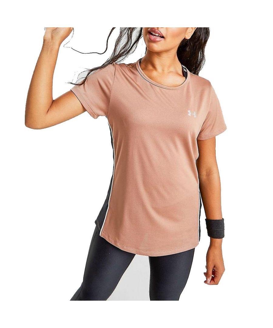 Image for Under Armour Tech Colour Block Womens Shirt Bronze