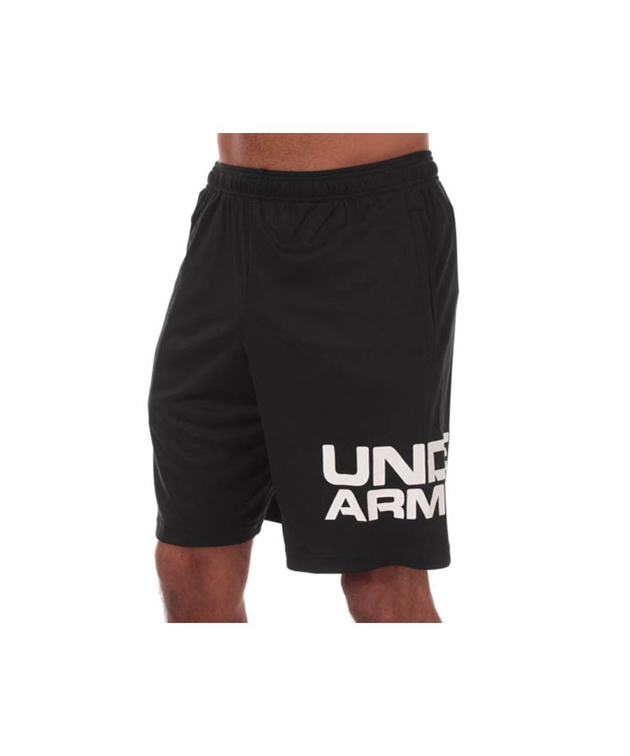 Image for Men's Under Armour UA Tech Wordmark Shorts in Black