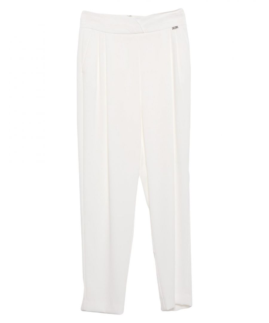 Image for Nenette Woman Casual trousers White Polyester