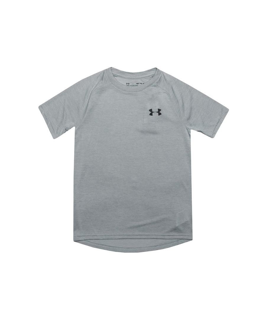 Image for Boy's Under Armour Infant Tech 2.0 T-Shirt in Grey