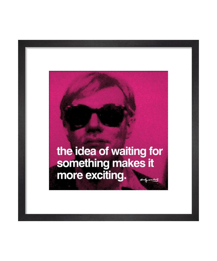Image for Waiting Art print by Andy Warhol