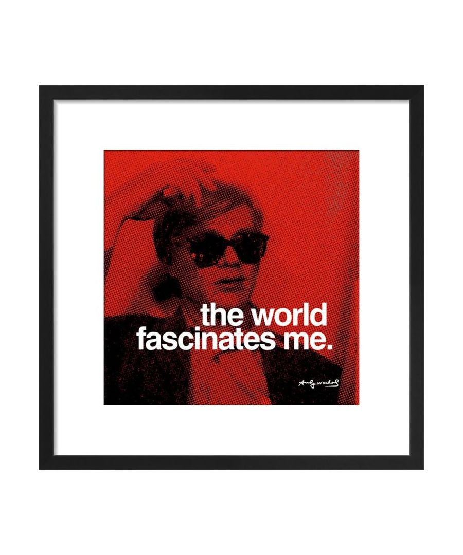 Image for The World Art print by Andy Warhol