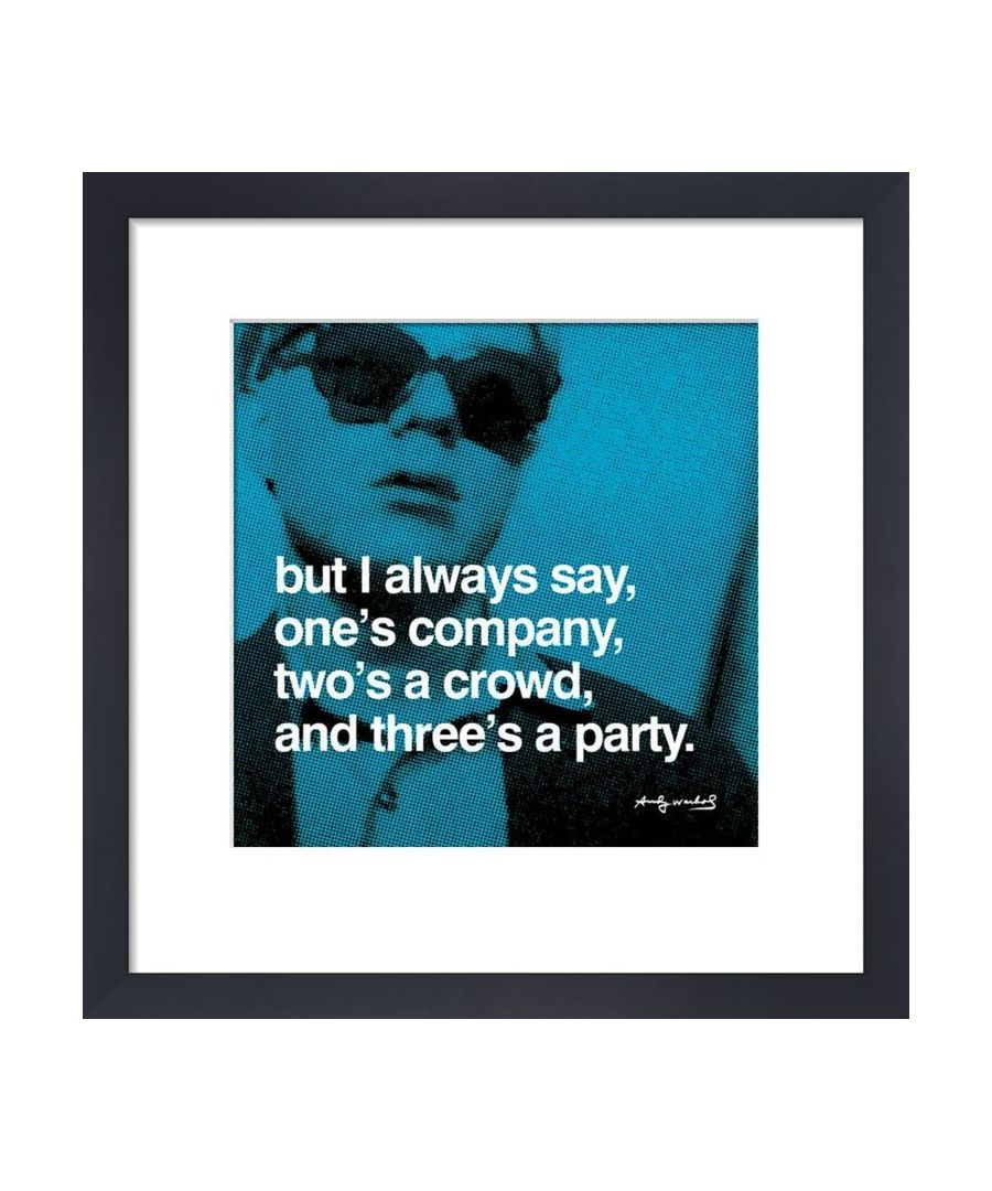 Image for Threes A Party By Andy Warhol
