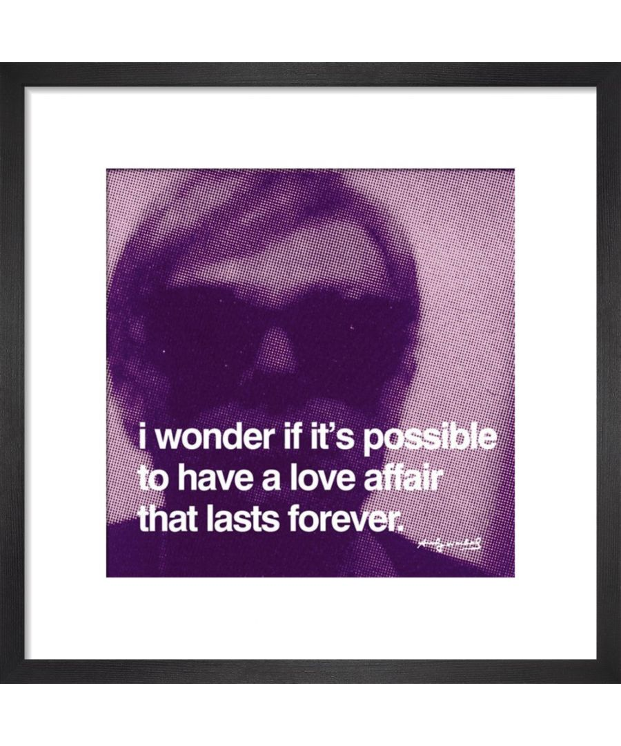 Image for Love Affair Art print by Andy Warhol