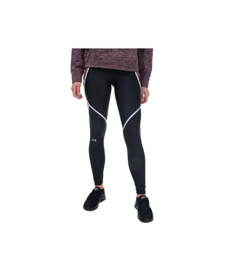 Image for Women's Under Armour Armour HG Shine Leggings in Black