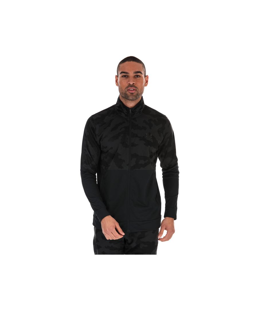 Image for Men's Under Armour Sportstyle Pique Track Jacket in Black