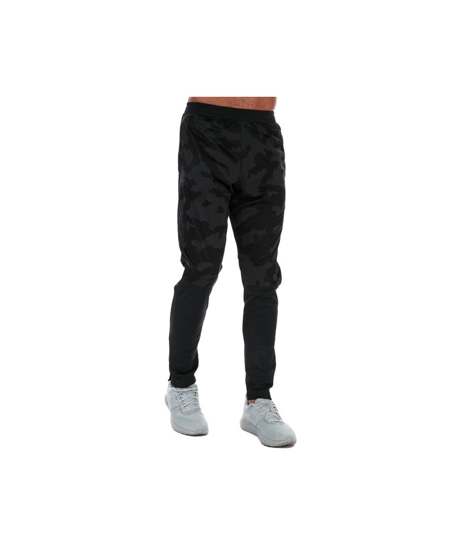 Image for Men's Under Armour Sportstyle Pique Track Pants in Black