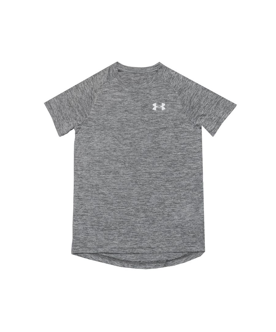 Image for Boy's Under Armour Junior Reflective T-Shirt in Grey