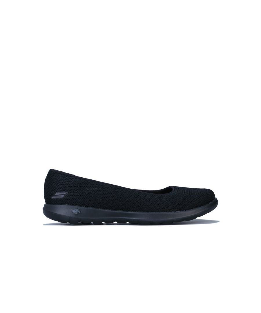 Image for Women's Skechers Go Walk Lite Fabulous Shoes in Black