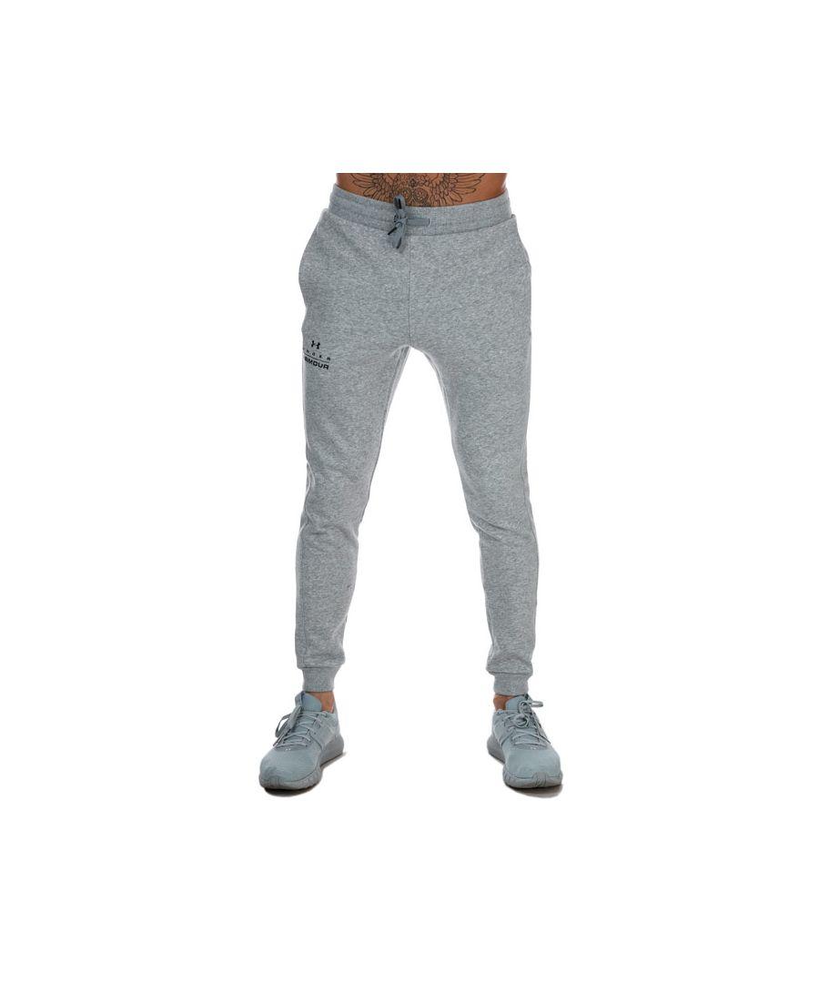 Image for Men's Under Armour Rival Fleece Jog Pants in Grey
