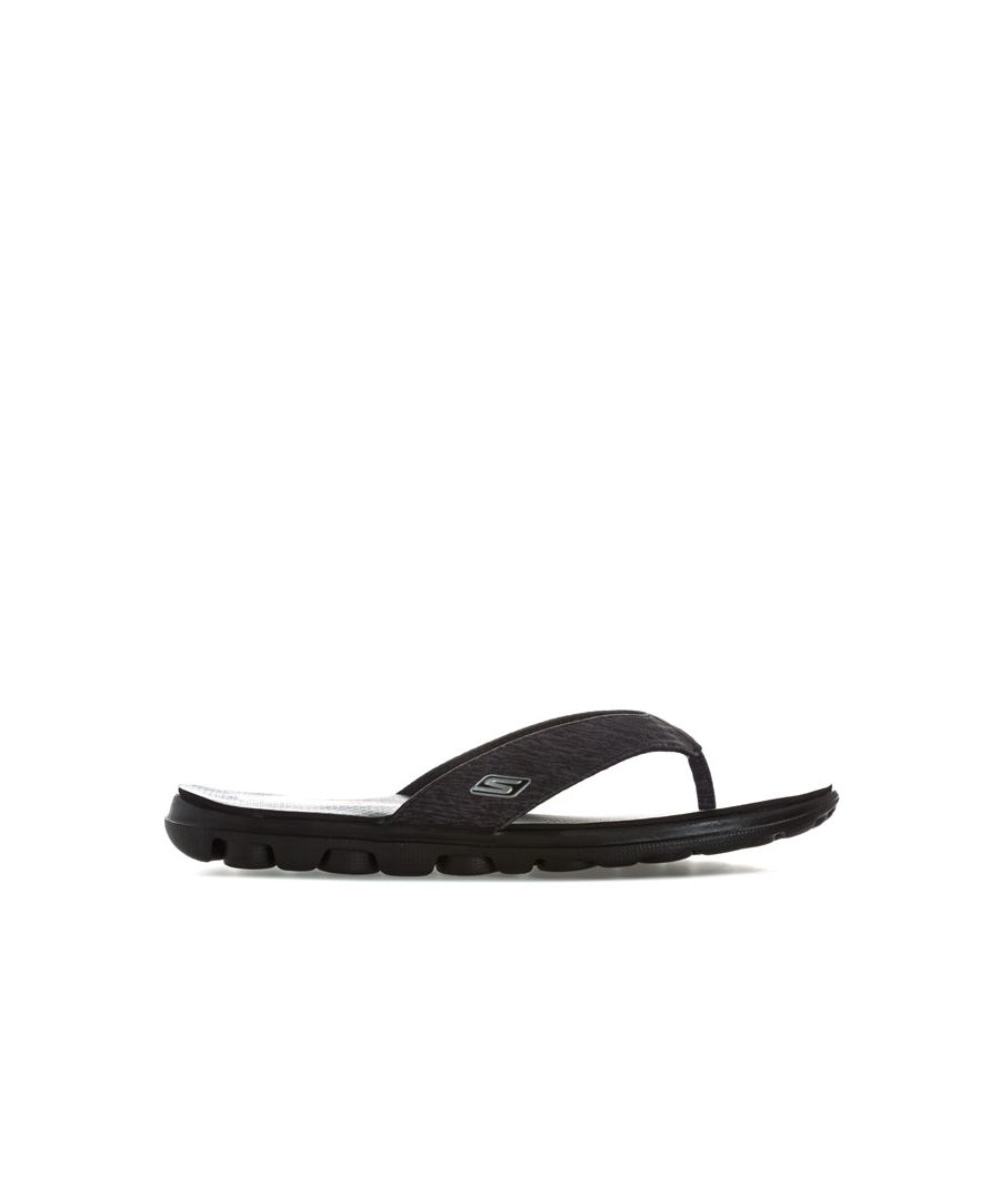 Image for Women's Skechers On The Go Flow Sandals in Black