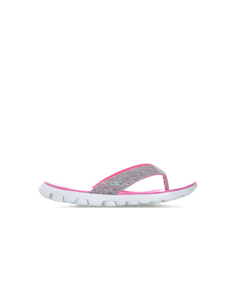 Image for Women's Skechers On The Go Flow Sandals in Grey