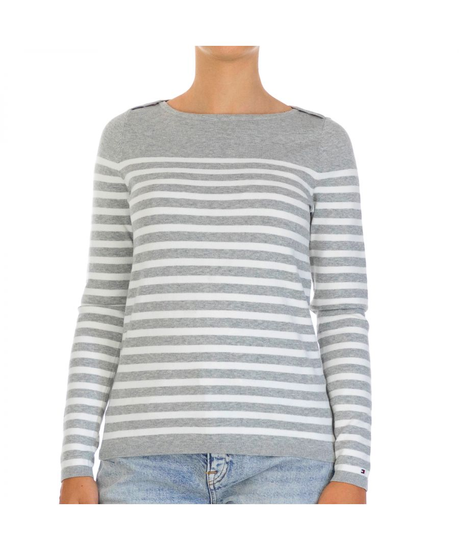 Image for Tommy Hilfiger Women Pullover Heritage   Full sleeve Multicolor