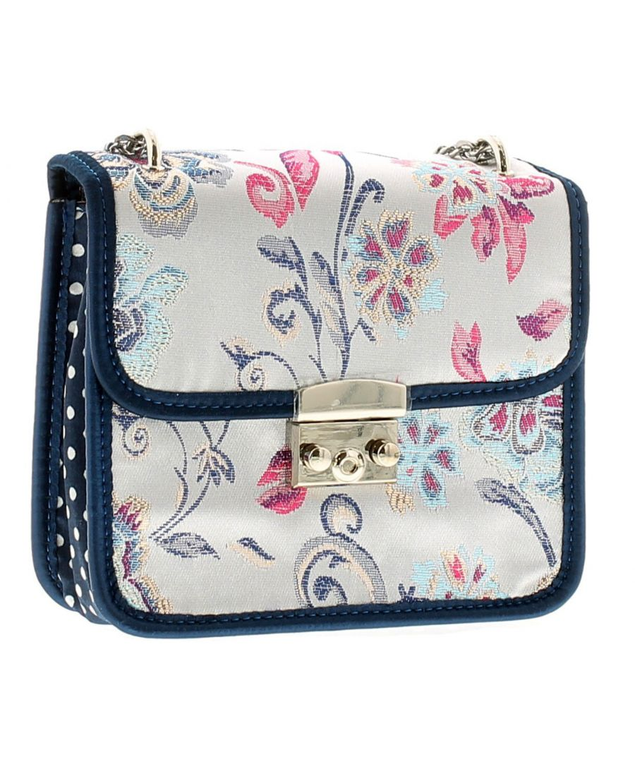 Image for Joe Browns Couture Clara Bag Womens Bag Navy/Silver/Multi