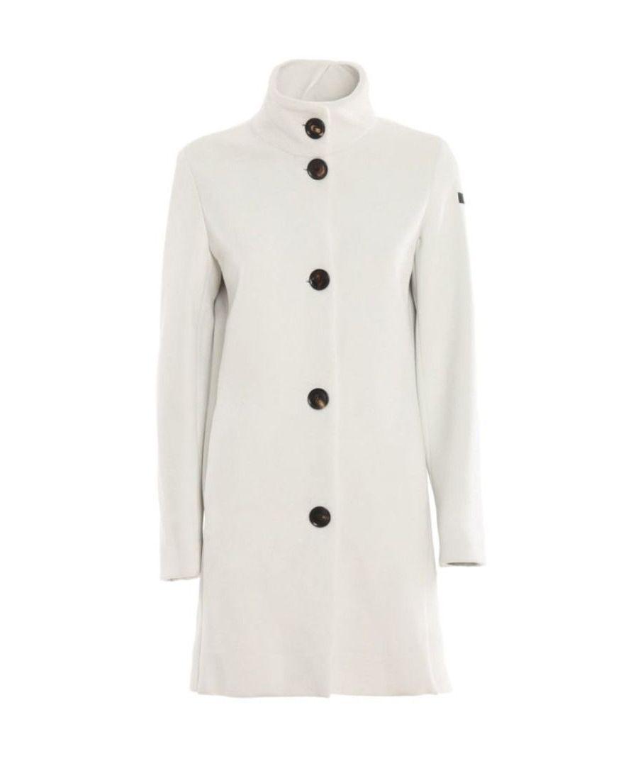 Image for RRD WOMEN'S F715D1954609 WHITE POLYESTER COAT