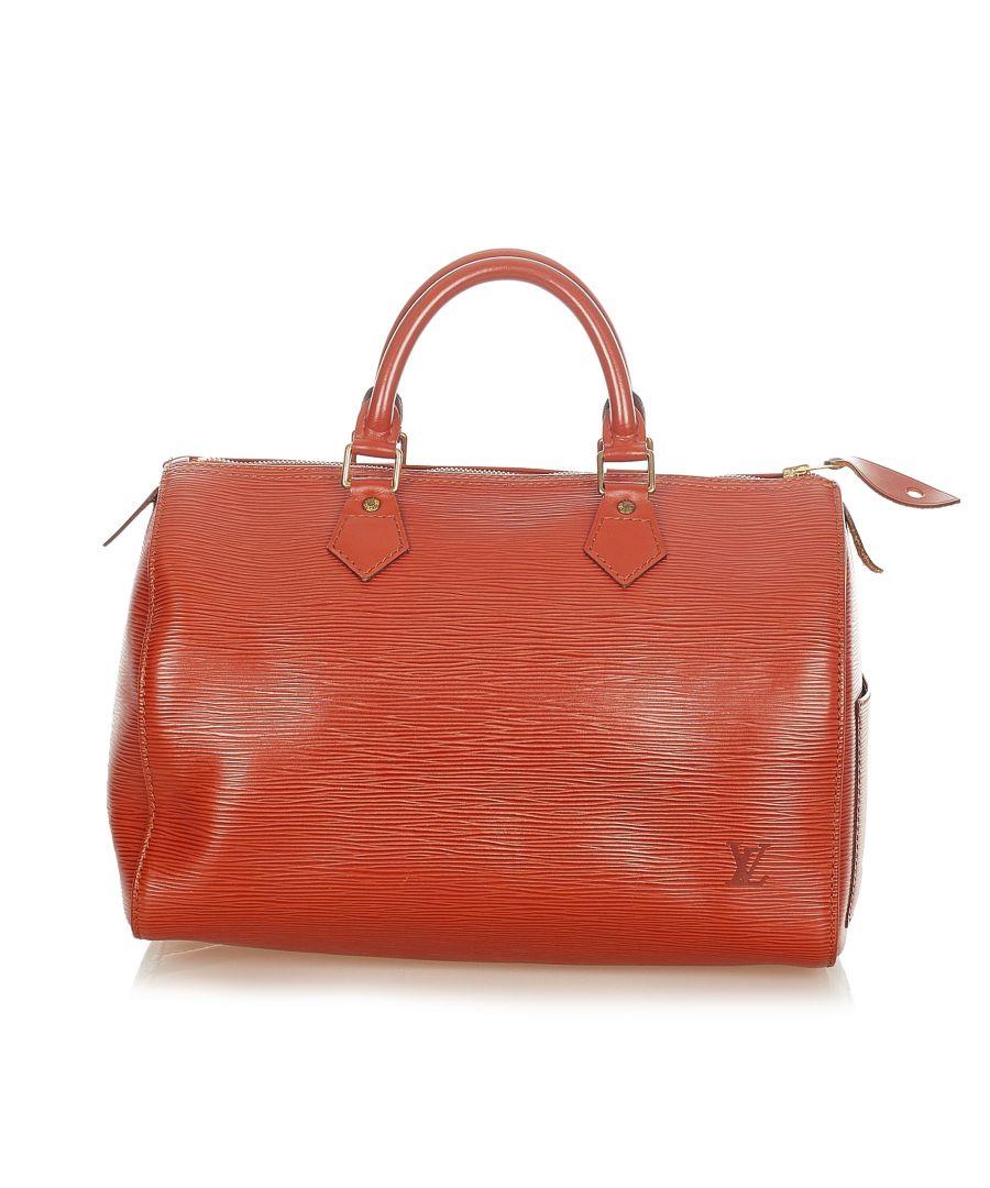 Image for Vintage Louis Vuitton Epi Speedy 30 Brown