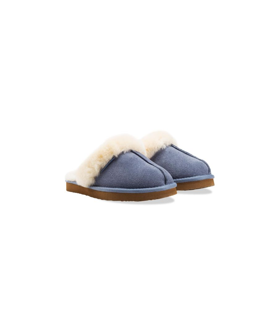 Image for Redfoot Ann Blue Slippers