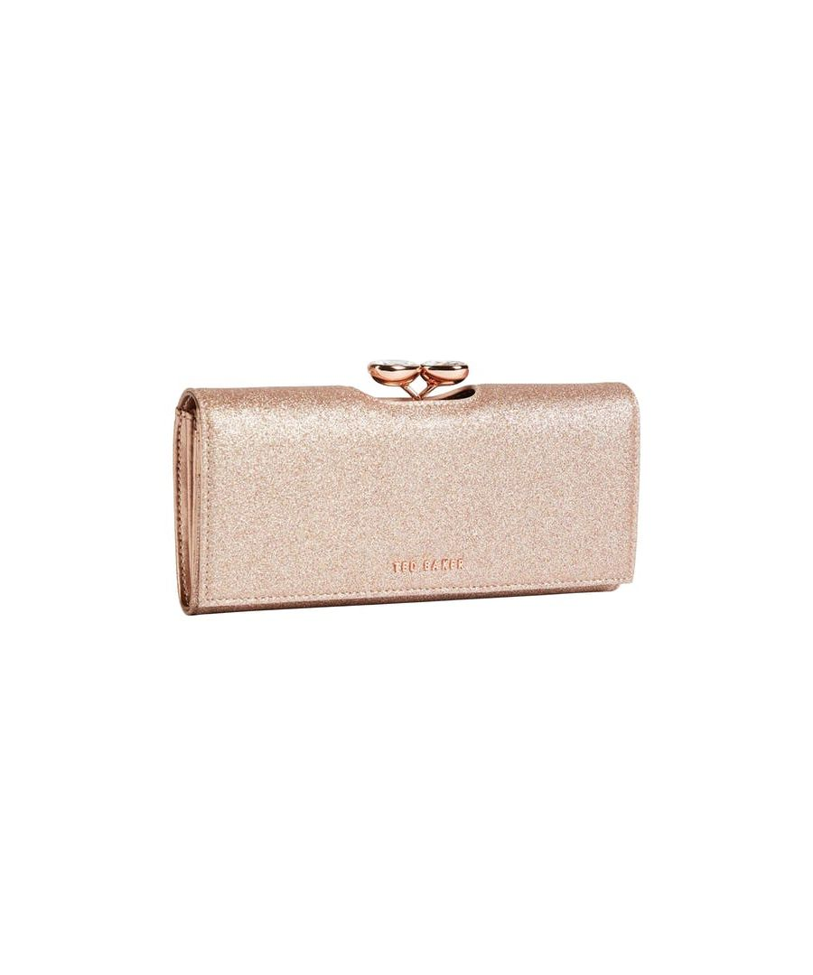 Image for Ted Baker Aimor Popper Matinee Purse, Rose Gold